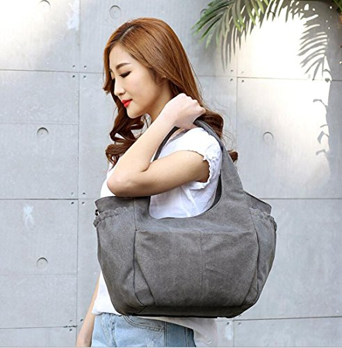 Women Women HandBag KISS Tote Brown Crossbody for Shoulder Leisure for Canvas GOLD Bag TM xY7YZU