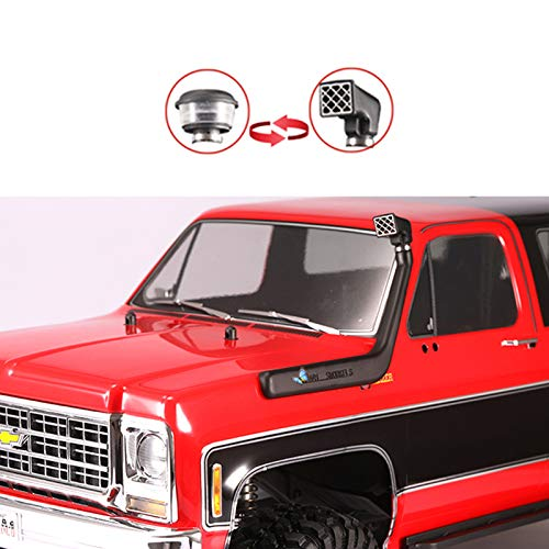SHEAWA DJC-0685 TRX4 Snorkel Kit / Raised Air Intake Kit Pre Filter Cleaner for Chevrolet K5 Blazer Traxxas ()