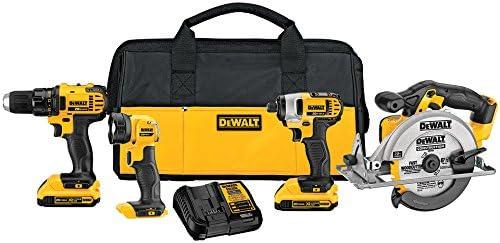 Dewalt Brushless 4 Tool Combo Kit DCK477D2 NEW