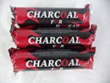 Three Packs of Charcoal Tablets: 3 Rolls of 10 Tablets, Total 30 Tablets.