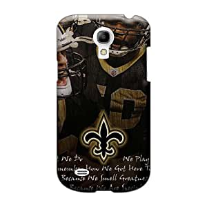 Protective Hard Cell-phone Cases For Samsung Galaxy S4 Mini With Unique Design Trendy New Orleans Saints Pattern MarcClements