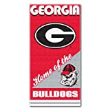 The Northwest Company NCAA Georgia Bulldogs Home Beach Towel, 28 x 58-Inch
