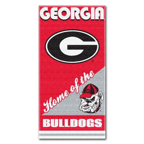 Georgia Pool Bulldogs (The Northwest Company NCAA Georgia Bulldogs Home Beach Towel, 28 x 58-Inch)