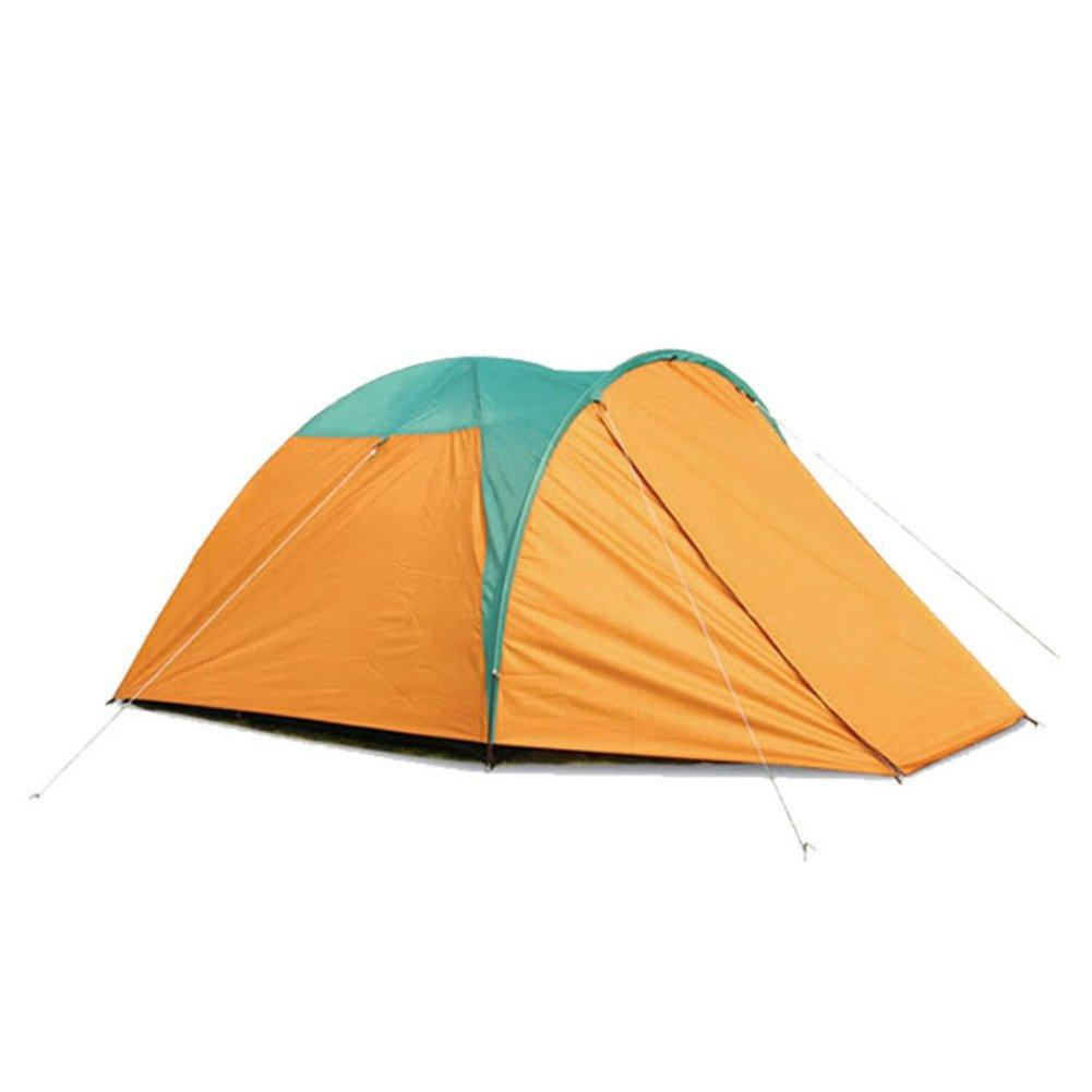 ドームテント, 3 ~ 4 人 四季テント 屋外 キャンプ ビーチ 登山 通風孔の大きな ポータブル 二重層 グラス 子供用テント  A B07CGJ122W