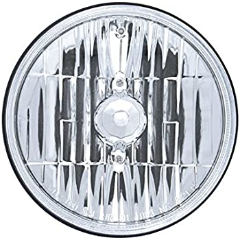 Amazon Com 2 Pairs 5 3 4 Quot Clear Dot Tri Bar H4 Headlights