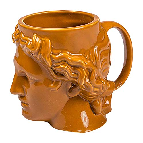 (Hestia Greek God Greco-Roman Ceramic Tea Novelty Coffee Mug (Terracotta))