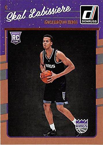 c7d80472649 Skal Labissiere basketball card (Sacramento Kings) 2016 Donruss  172 ...