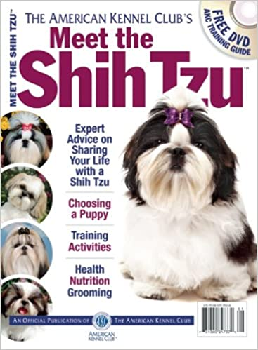 Meet The Shih Tzu American Kennel Club Meet The Amazoncouk