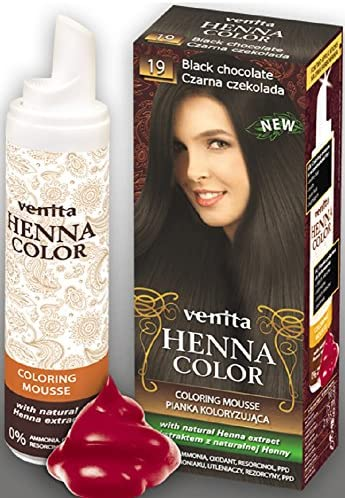 Venita Henna Color Mousse Espuma de Tinte para el Cabello ...