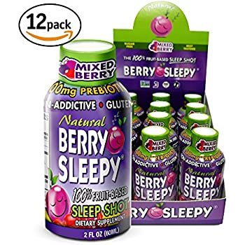 Amazon.com: (100% Natural Melatonina) – Berry Sleepy – Todos ...