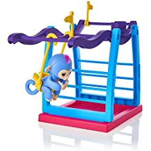[Patrocinado] Maple_Leaf Finger Monkey Jungle Swing Gym Playset Interactive Baby Monkey Climbing Stand