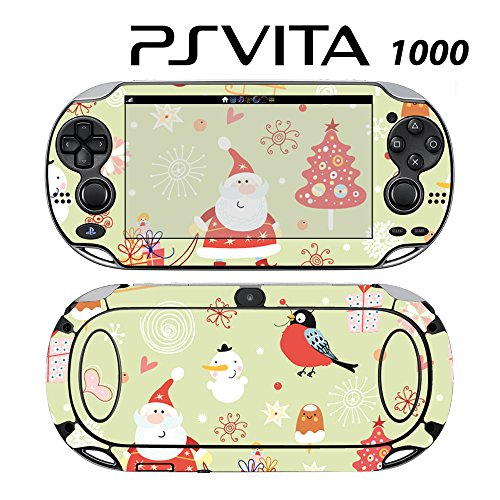 Skin Decal Cover Sticker for Sony PlayStation PS Vita (PCH-1000) - Christmas Santa Claus Coming to Town -  Decals Plus, PV1-PA34