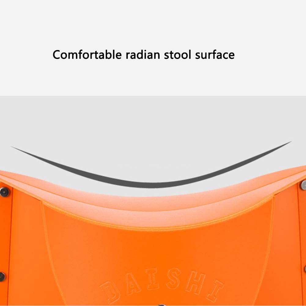 TZTED Stool Lightweight Folding Camp Stool For Outdoor Camping Fishing Picnic Hiking Soccer Games Photography Gardening Sporting Events