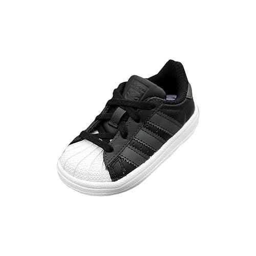 adidas Superstar I, Chaussures de Fitness Mixte Enfant, Noir Negbas/Ftwbla 000,