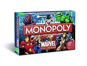 Monopoly Marvel Universe Edition Brettspiel - Deutsch - X-Men The Avengers...