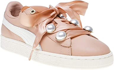 Puma Basket Bling Womens Sneakers Pink