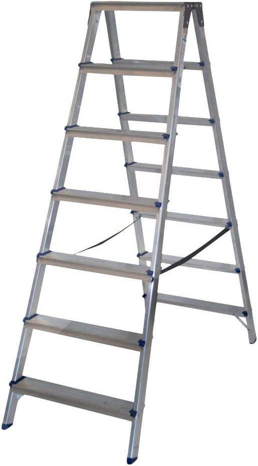Arcama TD07 Escalera tijera, 7 x 2 peldaños: Amazon.es: Bricolaje y herramientas