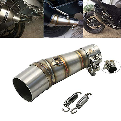 For Kawasaki Z250 2008-2015 Ninja 300 2013-2016 Ninja 250R 2008-2012 Exhaust Middle Pipe Connecting Pipe Link Tube