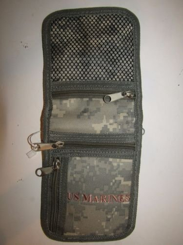 u marines badge holder pocket