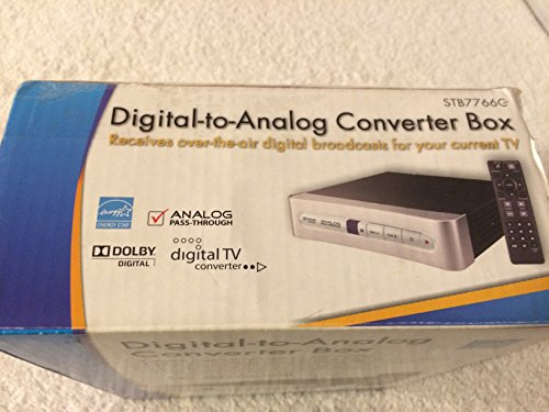RCA Digital-to-Analog Converter Box
