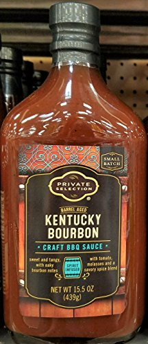 Private Selection Kentucky Bourbon Craft BBQ Sauce 15 oz (Pack of 2)