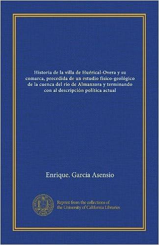 Historia de la villa de Huérical-Overa y su comarca