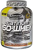 MuscleTech Platinum 100% ISO Whey, 100% Whey Protein Isolates Powder, Gourmet Milk Chocolate, 3.34 lbs (1.51kg) Review