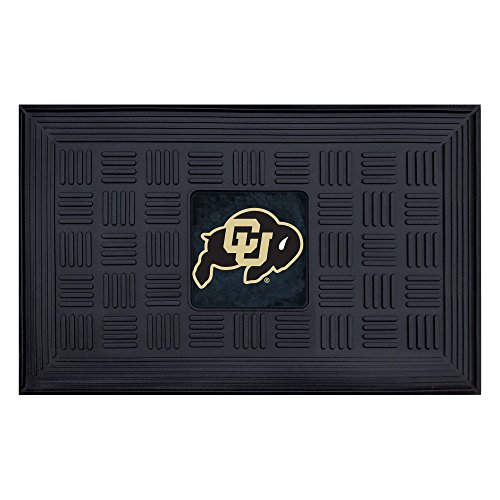FANMATS NCAA University of Colorado Buffaloes Vinyl Door Mat