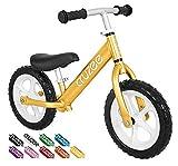 Cruzee UltraLite Balance Bike (4.4 lbs) for Ages 1.5 to 5 Years