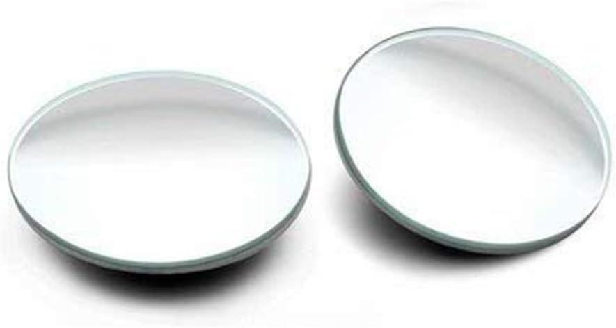 2 Specchietto retrovisore convesso rotondo in vetro HD Seroda Specchio cieco Design Universale Per Tutte le Auto Specchietto retrovisore regolabile