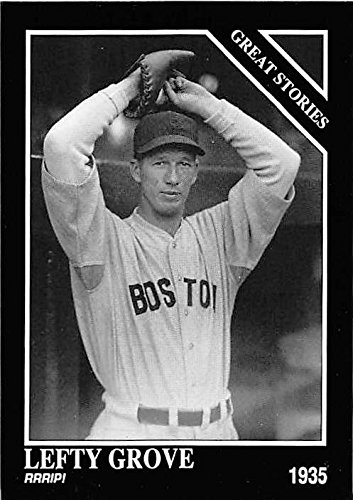 Lefty Grove Baseball Card Boston Red Sox Hall Of Fame Pitcher 1992