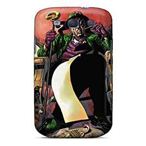 Awesome QYM3609OIYA Winvin Defender Tpu Hard Case Cover For Galaxy S3- The Riddler I4