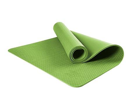 HCJYJD GUORONG Esteras de la Yoga, Material de la TPE 8m m ...