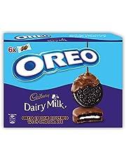 اوريو بسكويت مغطي بالشوكولاتة، 34 غرام، عبوة (علبة 6 قطع)
