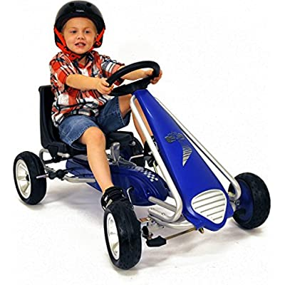 Kiddi-o by Kettler Pole Position Racer Pedal Car/Go Kart, Youth Ages 4 to 7: Toys & Games