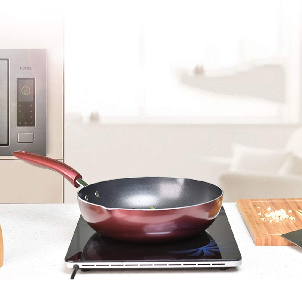 WYQSZ Wok - Non-stick Cooking, No-smoke Pan, Multi-function Household Durable Wok -fry pan 2365 (Edition : C) by WYQSZ (Image #4)