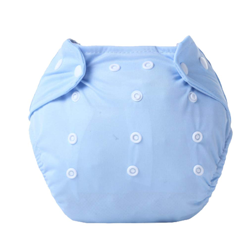 DierCosy Baby Cloth Diapers Washable and Reusable Diapers Adjustable Pull-on Pants Breathable Diaper Pants(Blue) BabyProducts