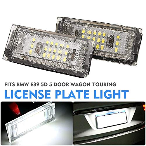 (License Plate Lights Automobile Light Assembly For BMW E39 5D 5 Door Wagon Touring)