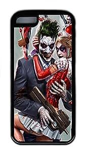 iPhone 5C Case Joker and Harley Quinn TPU iPhone 5C Case Cover Black