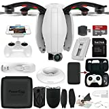 PowerVision PowerEgg Drone with 360 Panoramic 4K HD Camera and 3-axis Gimbal with High Speed 64GB Memory Card & More