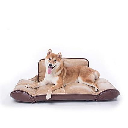 GYYL Sofá Cama de Gama Alta Muebles para Mascotas Perrera Perro Grande,Pink