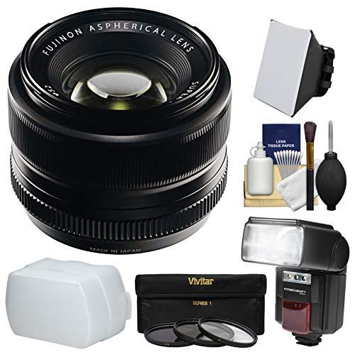 Fujifilm 35mm f/1.4 XF R Lens with Flash + Soft Box + Diffus