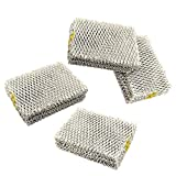 HQRP 4-pack Humidifier Wick Filter for Hunter 31941 94124 Replacement fits Hunter 33201, 33202, 33204, 33222, 33223 Humidifiers + HQRP Coaster