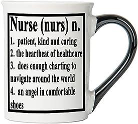 Nurse Mug, Nurse Coffee Cup, Ceramic Nurse Mug, Custom Nurse Gifts By Tumbleweed