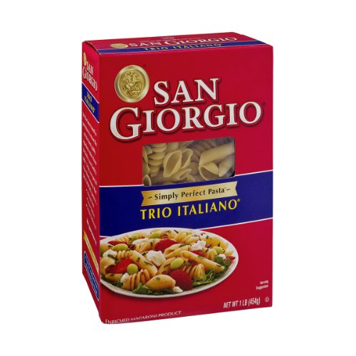 San Giorgio Enriched Macaroni Product Trio Italiano