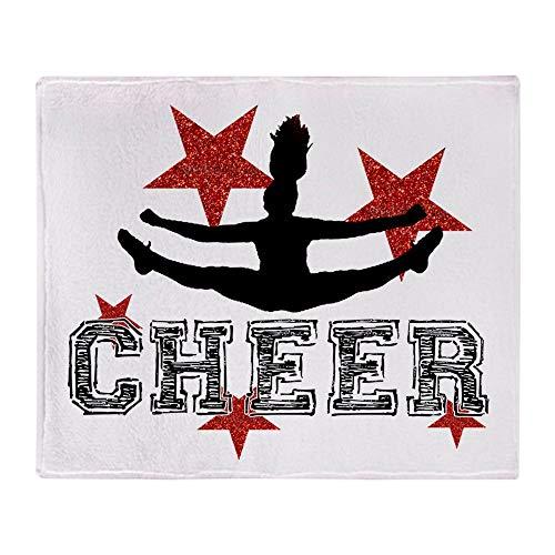 CafePress Cheerleader Soft Fleece Throw Blanket, 50