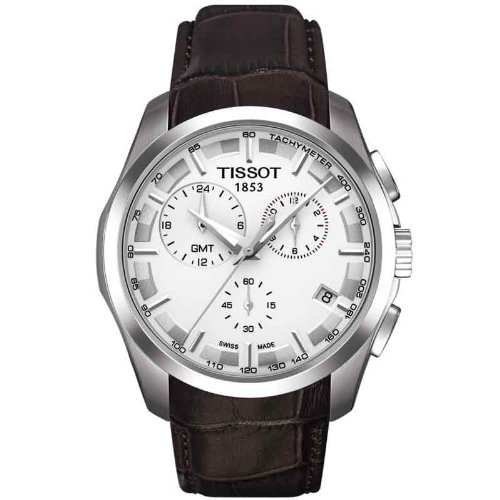TISSOT T-TREND RELOJ DE HOMBRE CUARZO 41MM CORREA DE CUERO T035.439.16.031.00: Amazon.es: Relojes