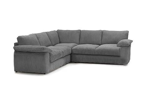Ruxley Large Fabric 5 Seater Corner Sofa - 2 Corner 2 ...
