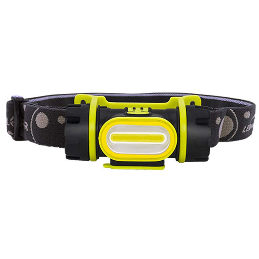 YXZN LED Scheinwerfer USB Aufladung Stufenlos Dimming Wasserdichter Kopf Taschenlampe