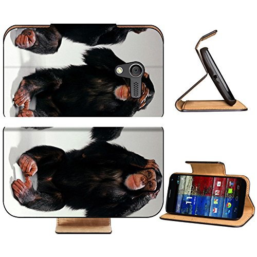 Monkeys Blind Deaf Dumb Improvisation Motorola Moto X Flip Case Stand Magnetic Cover Open Ports Customized Made to Order Support Ready Premium Deluxe Pu Leather 5 7/16 Inch (138mm) X 3 1/16 Inch (78mm) X 9/16 Inch (14mm) Liil Mobility cover Professional MotoX Cases Moto_X Accessories Graphic Background Covers Designed Model Folio Sleeve HD Template Designed Wallpaper Photo Jacket Wifi Protector Cellphone Wireless Cell phone